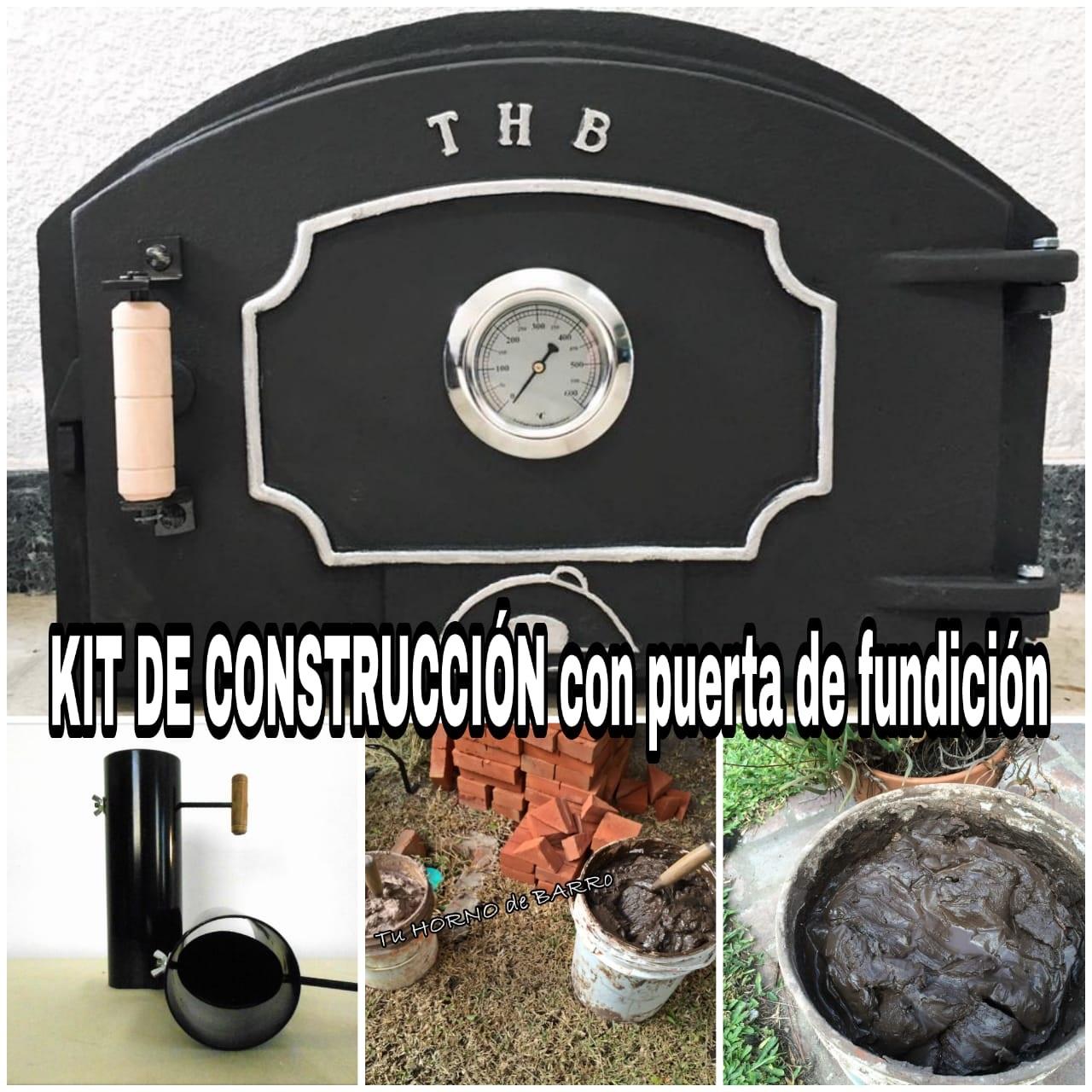 kit construcción puerta de fundición