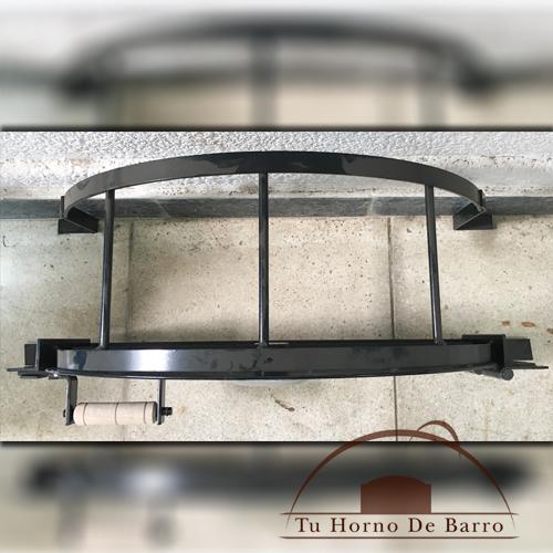 Puerta chapa de hierro tu horno de barro - Chapa de hierro ...